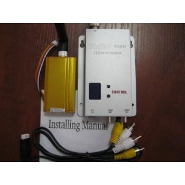 Передатчик видео 1,5 W Беспроводный восьмиканальный  1,2 Ghz до 2500м