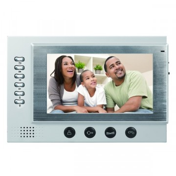Видеодомофон цветной BSE-701R ультратонкий 7 дюймов  комплект