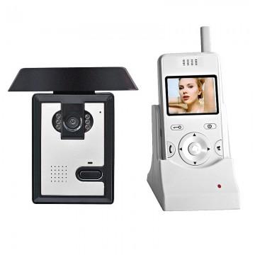 Беспроводной цветной видеодомофон BSE-02-1C-1M комплект