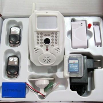 GSM  MMS беспроводная сигнализация BSE-2000 (комплект)