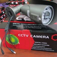 Видеокамера  наружная цветная варифокал BSE VTN60P80